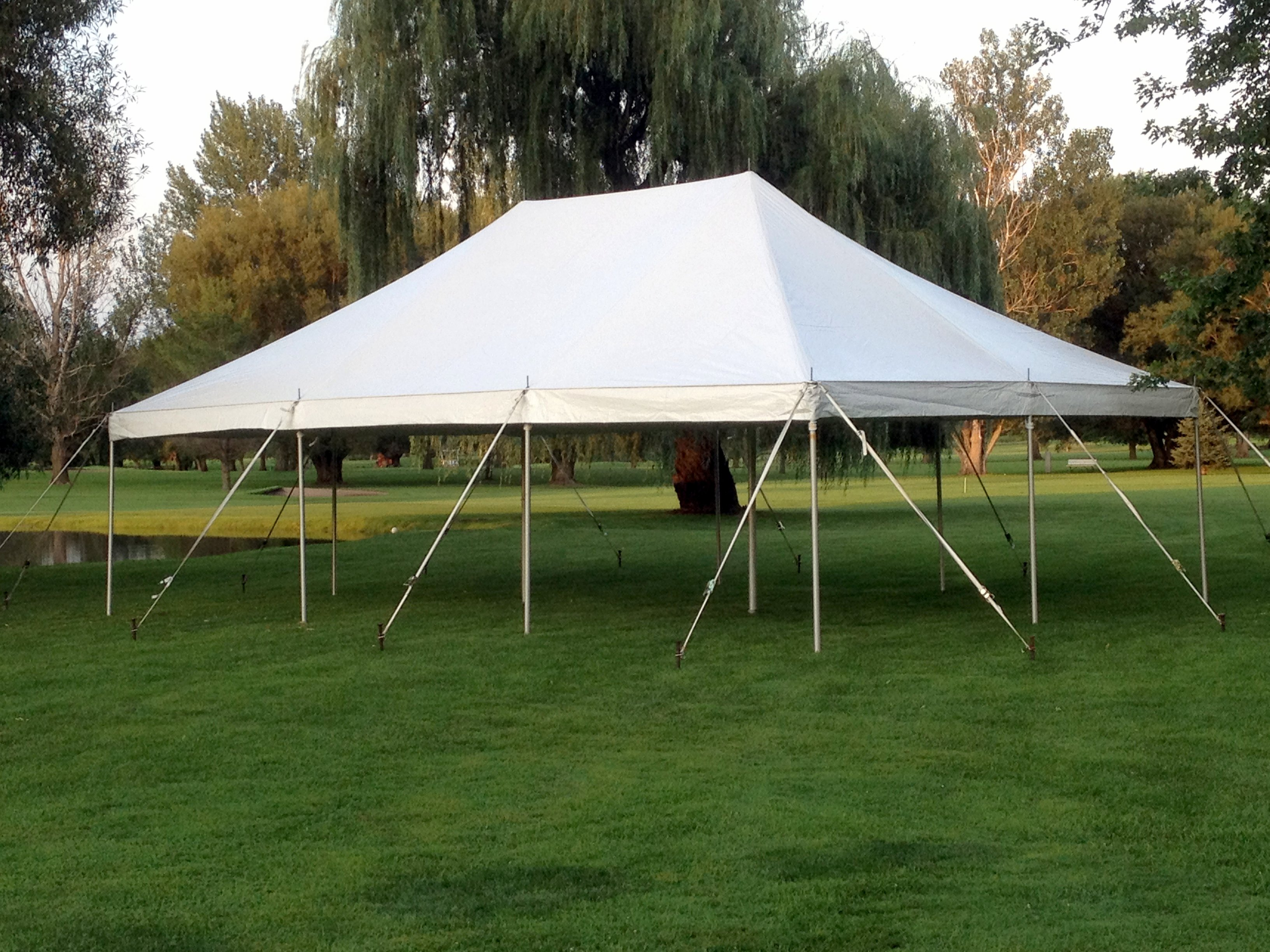 20u2032 x 30u2032 Pole Tent & 30u2032 X 60u2032 Pole Tent » Rainy Day Party Rentals