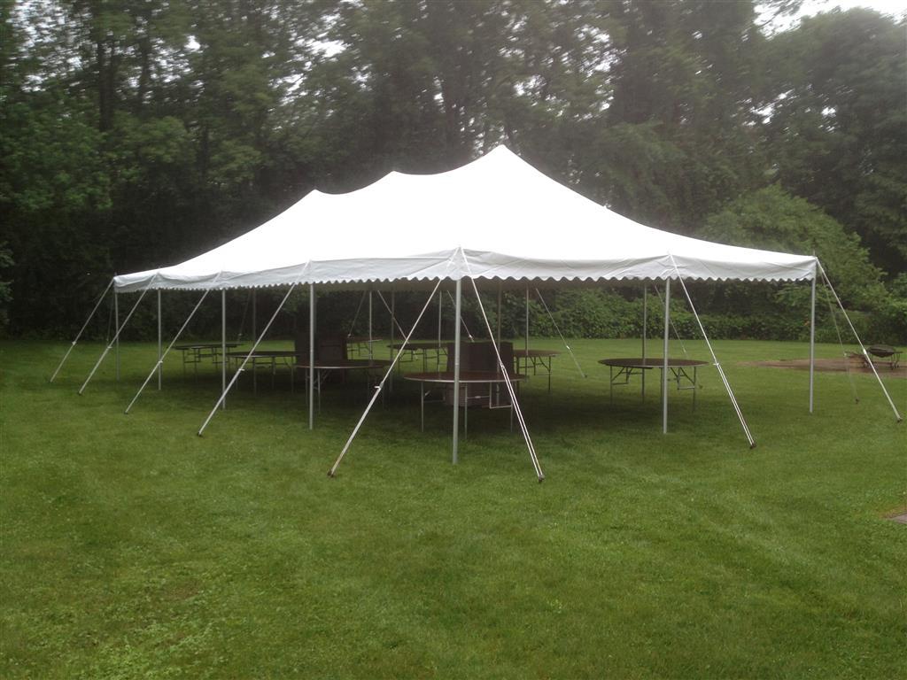 20u2032 x 40u2032 Pole Tent & 20u2032 x 40u2032 Pole Tent » Rainy Day Party Rentals