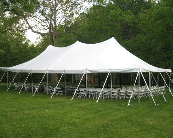 30u2032 X 40u2032 Pole Tent & 30u2032 X 40u2032 Pole Tent » Rainy Day Party Rentals