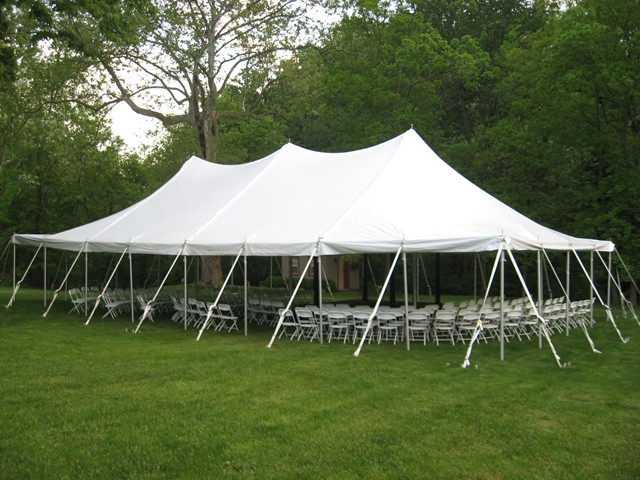 40u2032 X 60u2032 Pole Tent & 40u2032 X 60u2032 Pole Tent » Rainy Day Party Rentals