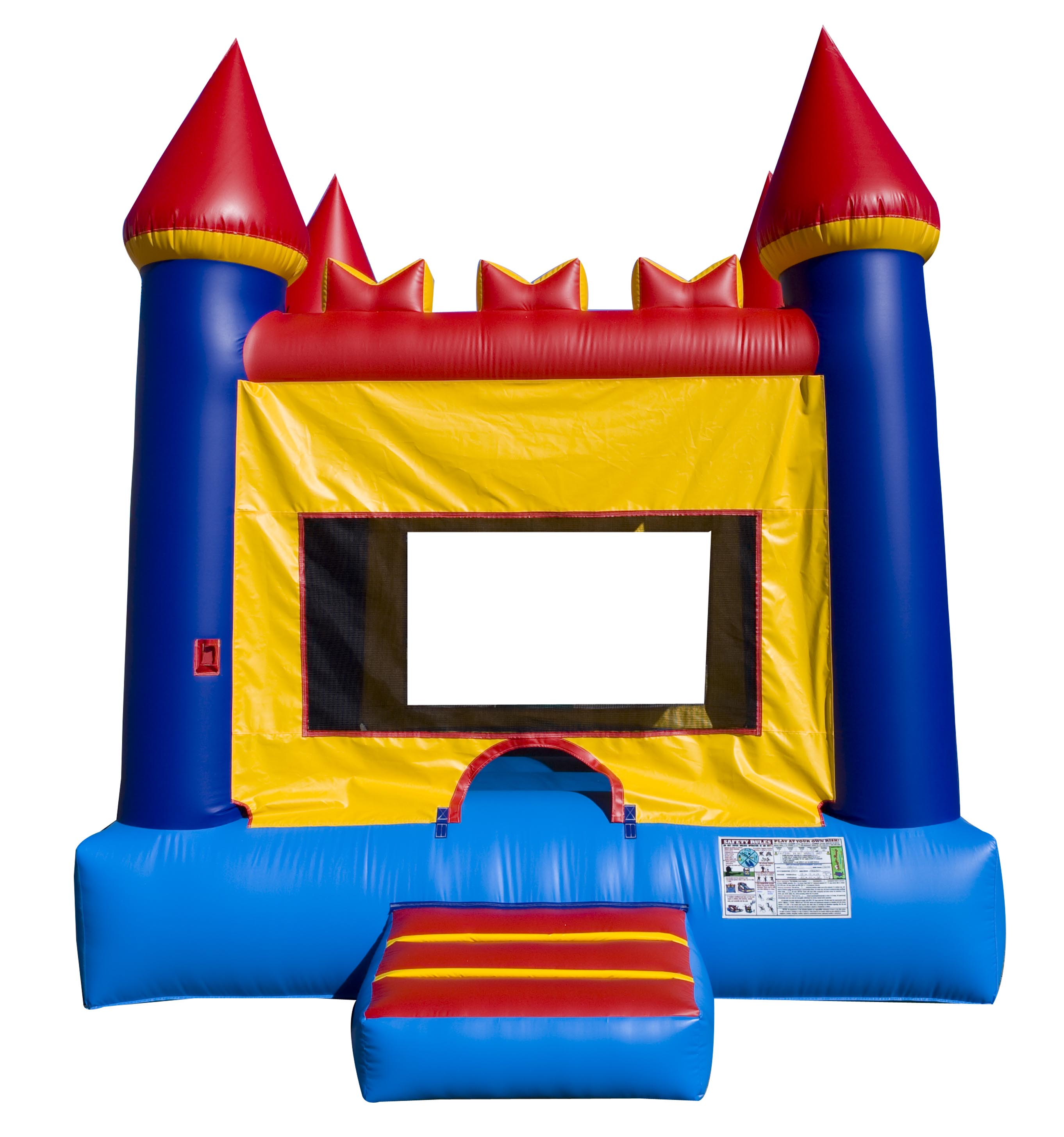 Castle Bounce House Rainy Day Party Rentals
